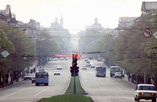 Проспект Ленина, 1980-е годы