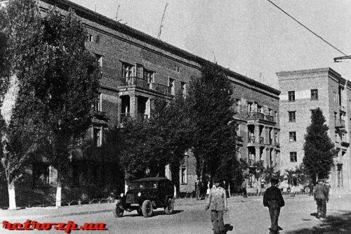 Проспект Ленина в конце 40-х годов