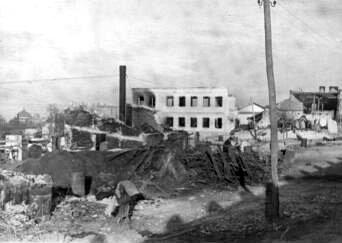 Разрушенный маслобойный завод