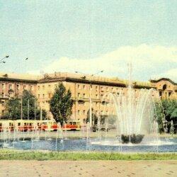 Ретро площадь Маяковского, СССР
