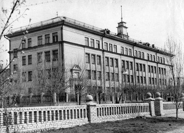 Средняя школа №22 в 50-е годы
