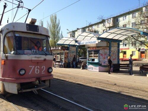 Трамвайная остановка «Бульвар Центральный»