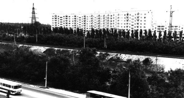 Запорожье, улица Магистральная, 1975 год
