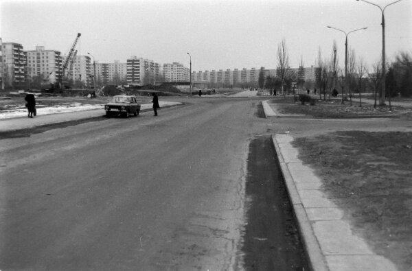 Улица Новгородская, 1984 года