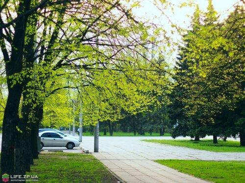 Весна на улице Кремлевская