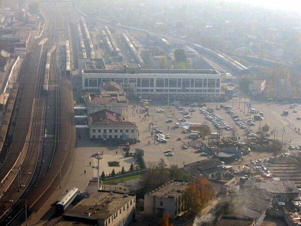 Вокзал Запорожье-1 (середина 2000-х)