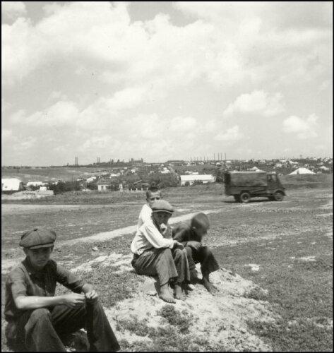 Запорожье в 1943 году (40-е годы)