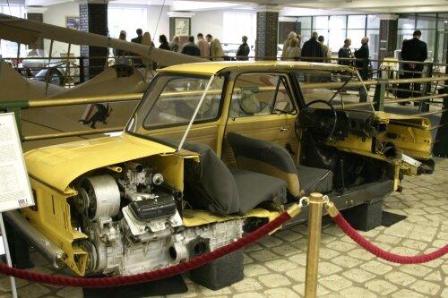 ЗАЗ-968М в разрезе