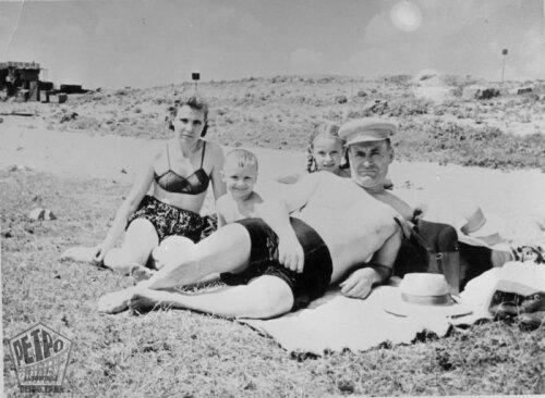 Ждановский пляж, 1956 год (50-е годы)