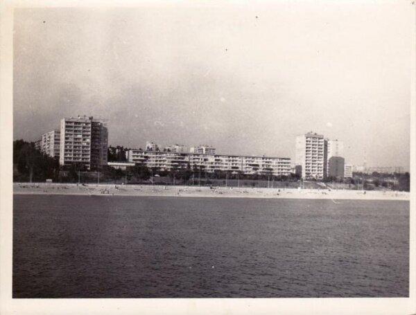 Ждановский пляж, лето 1979 года