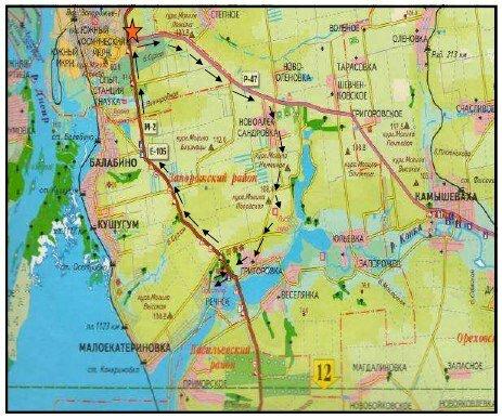 Маршруты краеведческих велосипедных путешествий Запорожским краем