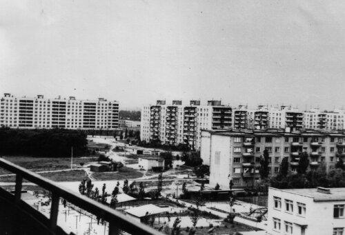 Шевченковский микрорайон. Фото 70-х годов.