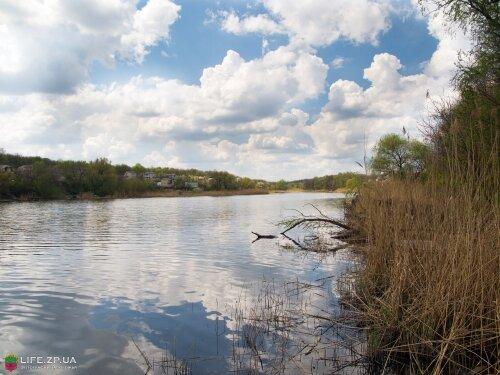 Залив Гадючья балка (Сады Запорожстали)