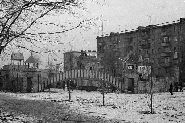 Детский городок времен СССР