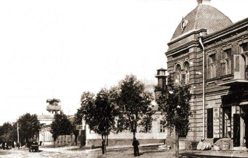 Город Александровск. Дом Куржупов на Александровской улице (сейчас ул. Дзержинского).