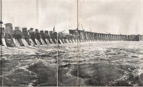 К середине мая 1931 года все бычки плотины были построены до верха