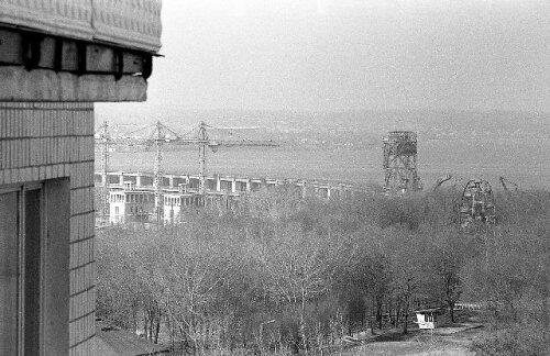 """В парке """" Металлургов"""" было и колесо обозрения. (70-е годы)"""