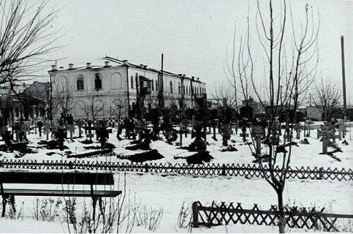 Кладбище фашистов в Запорожье