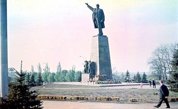 Памятник Ленину, 1972 год (70-е годы)