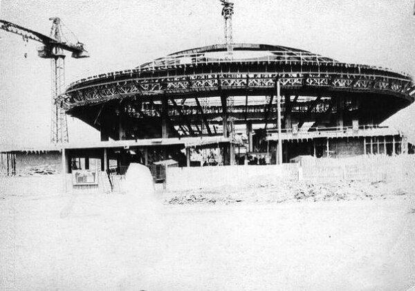 Строительство запорожского цирка (60-е годы)
