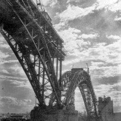 Строительство Кичкасского моста, начало XX века