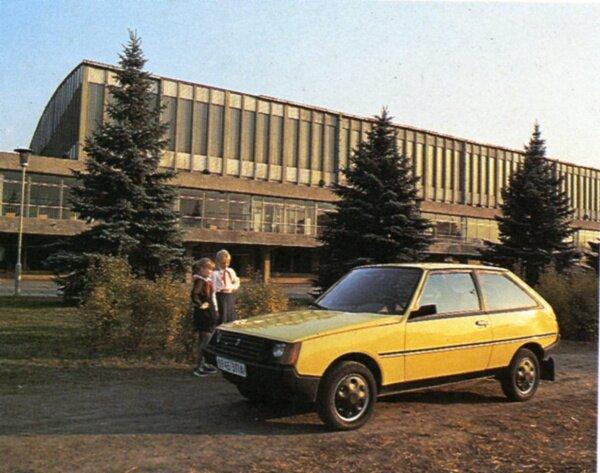 Автомобиль Таврия (80-е года)