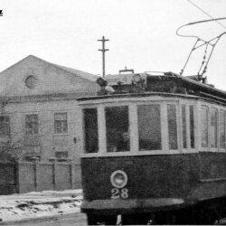 Трамвай едет по новому маршруту - Павло-Кичкас