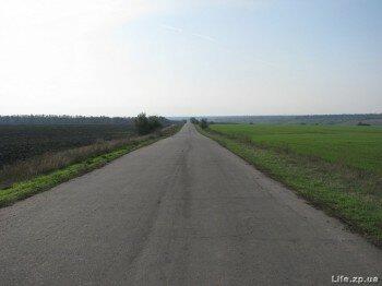Дорога к селу Долинское