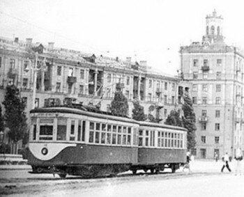 Проспект Ленина 1950 год