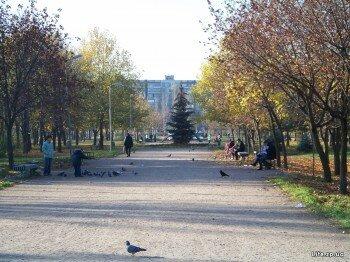 Красивый парк на ул. Лахтинская