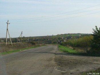 Въезд в село Смоляное